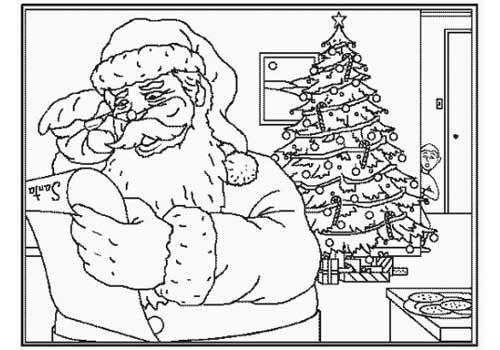 Worksheet. Dibujos de Navidad