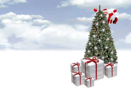 Hacer felicitacion navidad con foto gratis